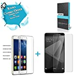 #8: Kaira Silicon Transparent TPU cover + Tempered Glass for Xiaomi Redmi 4 (may 2017 edition)