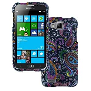 Full Coverage Midnight Paisley Case for Samsung ATIV S