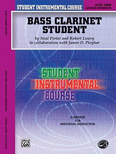 Bass Clarinet Student, Level Three (Student Instrumental Course)