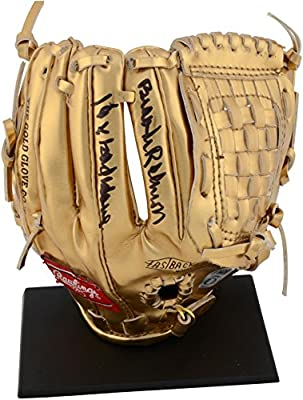 Brooks Robinson Baltimore Orioles Autographed Mini Gold Glove with 16x Gold Glove Inscription - Fanatics Authentic Certified
