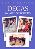 Degas: 16 Art Stickers (Dover Art Stickers) (0486403912) by Degas, Edgar