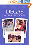 Degas: 16 Art Stickers