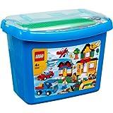 Valued LEGO® Deluxe Brick Box Playset - 5508 with accompanying Lego HSB Storage Bag
