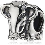 Pandora Elephant 791130 Silver Charm
