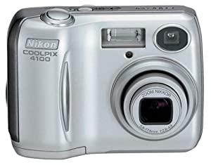 Nikon Coolpix 4100 4MP Digital Camera with 3x Optical Zoom