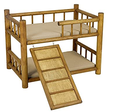 Kerbl Bunk Bed Best Dream with Spiral Staircase, 60 x 40 x 45 cm