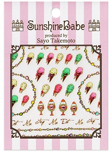 SunshineBabe ネイルシール Old America