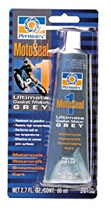 Permatex 29132 MotoSeal 1 Ultimate Gasket Maker Grey, 2.7 oz.