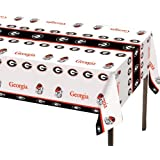 Creative Converting Georgia Bulldogs Plastic Banquet Table Cover