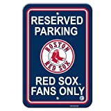 Boston Red Sox MLB Plastic Parking Signs at Amazon.com
