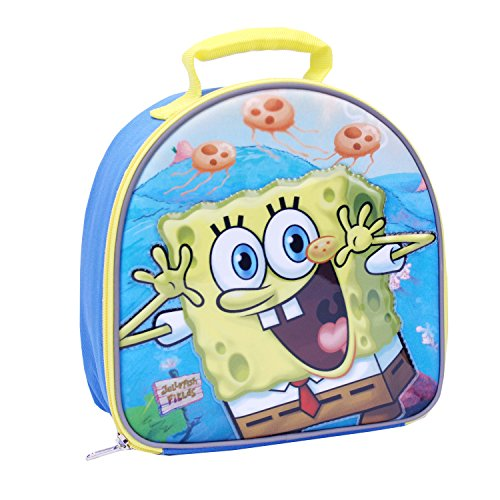 Global Design Concepts SpongeBob Lunch Kit, Blue/Yellow