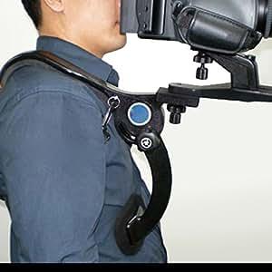 Neewer Hand Free Shoulder Mount Stabilizer Support Pad for Video Camera DV / DC Camcorder HD DSLR