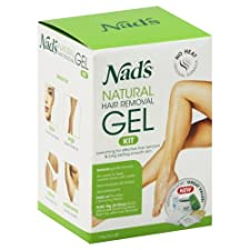 Nads Hair Removal Gel Kit, Original Formula 1 kit [6 oz (170 g)]