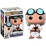 Dr. Emmet Brown : Funko POP! x Back to the Future Vinyl Figure