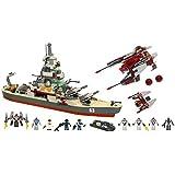 KRE-O Battleship U.S.S. Missouri Set (38977) with Bonus Alien Showdown