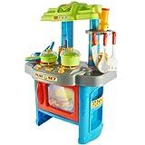 Kinderküche / Spielküche (Blue Cookie) mit Licht- und Soundeffekten