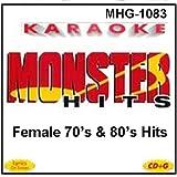 Monster Hits Karaoke #1083 - Female 70s & 80s Hits