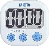 タニタ でか見えタイマー100分 ホワイト TD-384-WH -