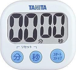 TANITA でか見えタイマー ホワイト TD-384-WH
