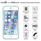 iPod Touch 6 6th Generation & 5th generation Glass Screen Protector- COCOFU Tempered Glass Screen Protector for iPod Touch 6G & 5G [Ultra Thin]9H Hardness](2 Pack)