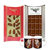 Chocholik Belgium Chocolate Gifts - Crunchy Combo Of Chocolate Bars With Diwali Special Coffee Mugs - Gifts For...