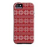 Case-Mate DIY Tough Case for Apple iPhone 5- Christmas Snowflake