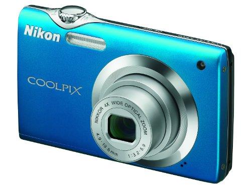Nikon S3000 Digital Camera - Blue (12MP, 4x wide Optical Zoom) 2.7 inch LCD