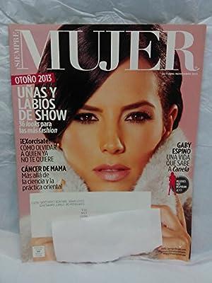 Siempre Mujer 2013 October/November (Cover