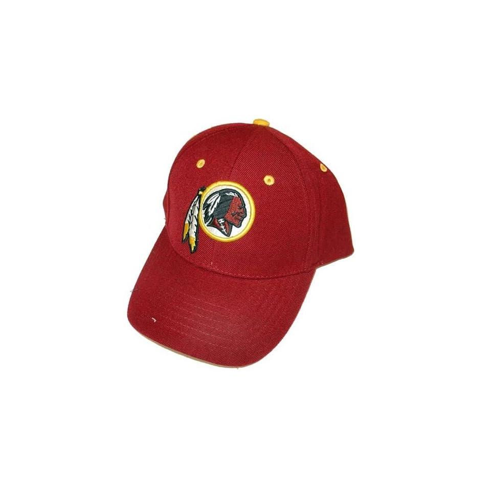 Washington Redskins Classic Baseball Cap   Adjustable, Officially Licensed National Football League Baseball Cap  Sports Fan Baseball Caps  Clothing
