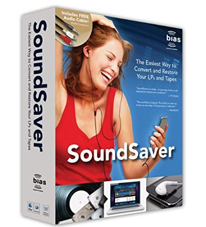Soundsaver LP & Cassette to MP3