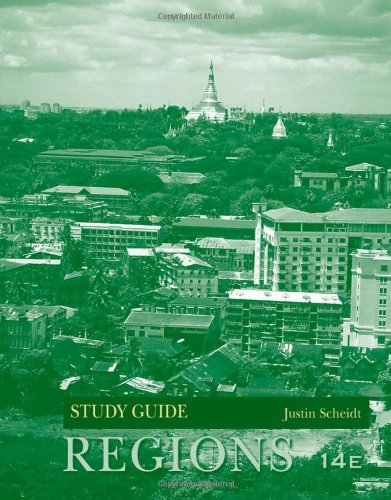 Study Guide t/a Realms, Regions and Concepts