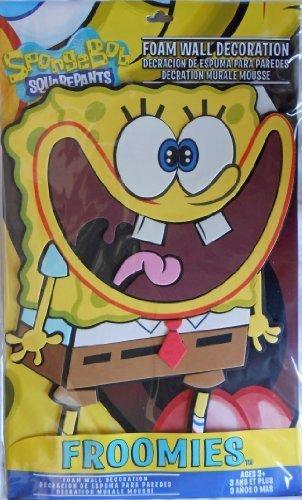 3D Sponge Bob Squarepants Froomies 18.5 x 11.25 inch- Ahh.. Bob - 1