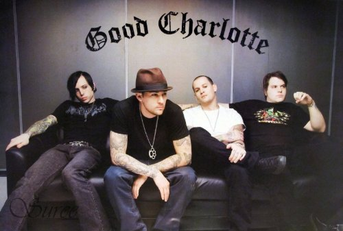 J-1945 Good Charlotte - Music Wall Decoration Poster Size 24