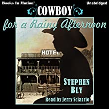 Cowboy for a Rainy Afternoon Audiobook by Stephen Bly Narrated by Jerry Sciarrio