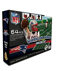NFL New England Patriots Endzone Toy Set by OYO