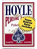 2 Decks Hoyle Poker Playing Cards Red & Blue Standard