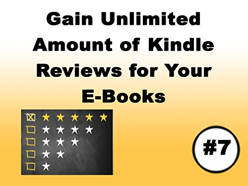 Gain Unlimited Amount of Kindle Reviews For Your Ebooks on Amazon Prime Video UK
