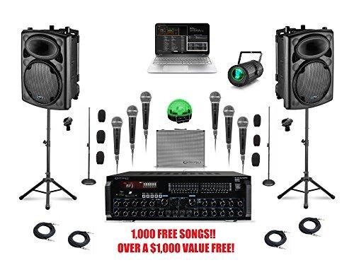 complete bluetooth laptop karaoke system professional