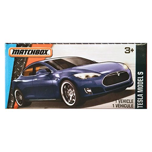2016 Matchbox Power Grabs MBX Adventure City Tesla Model S 24/125 (Tesla Model compare prices)