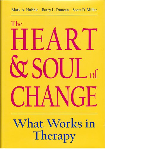 the heart and soul of change The heart and soul of change: delivering what works in therapy, second edition (book review) abstract in 1936 saul rosenzweig (19072004) published a scientific paper concluding that psychotherapies of.