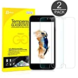 iPhone 6s Screen Protector, JETech® 2-Pack Premium Tempered Glass Screen Protector Film for Apple iPhone 6 and iPhone 6s Newest Model 4.7
