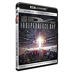 Independence Day [4K Ultra HD + 2 Blu-ray + Digital HD]
