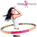 Hoopomania® Large Hoop, Hula Hoop avec 96 aimants, 1,8 kg