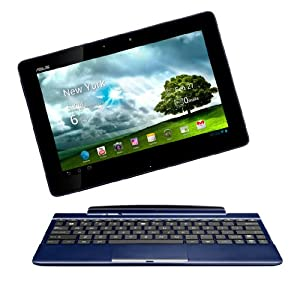 Asus EeePad TF300T-1K118A 25,7 cm (10,1 Zoll) Tablet-PC (NVIDIA Tegra 3, 1,3GHz, 1GB RAM, 32GB eMMC, NVIDIA 12 Core, Android 4.0) blau