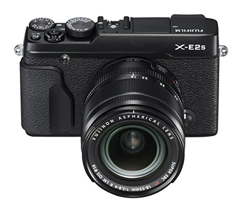 Fujifilm X-E2S Mirrorless Camera w/XF18-55 Lens Kit (Black) (Fujifilm Xe 1 compare prices)