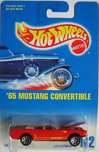 HOT WHEELS '65 MUSTANG CONVERTIBLE #162