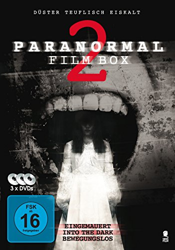 Paranormal Film Box 2 - Boxset mit 3 Horror-Hits: Into The Dark, Eingemauert, Bewegungslos [3 DVDs]