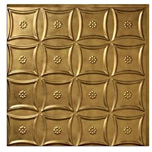 MirroFlex Americana 2-foot x 2-foot Glue Up Tile  Antique Bronze