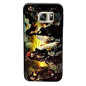 BMF Flexible Printed Mobile Back case for S6 Edge