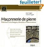 Ma�onnerie de pierre : Mat�riaux et t...